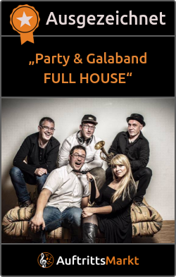 Bewertungen von Party & Galaband FULL HOUSE