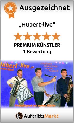 Bewertungen von Hubert-live