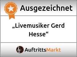 Bewertungen von Livemusiker Gerd Hesse