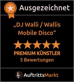 Bewertungen von DJ Walli / Wallis Mobile Disco
