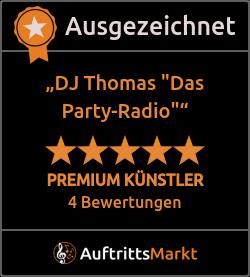 Bewertungen von DJ Thomas