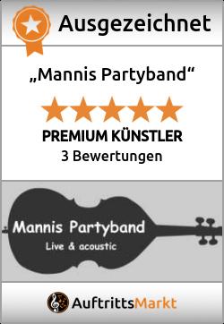 Bewertungen von Mannis Partyband